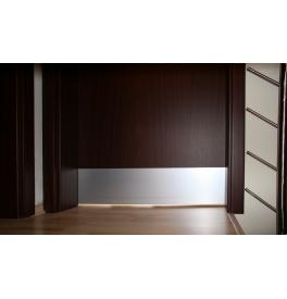 Okopové plechy - Balíčky (určeno pro falcové dveře) - F1 - přírodní elox