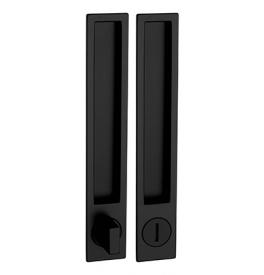 Mušle na posuvné dveře PAMAR 1096Z - WC - BLM - Černá matná