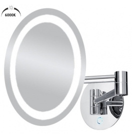 LED Kosmetické zvětšovací zrcátko NIMCO ZK 20165-26
