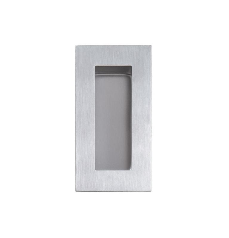 Mušle na posuvné dveře TUPAI 7506 - BN - Broušená nerez