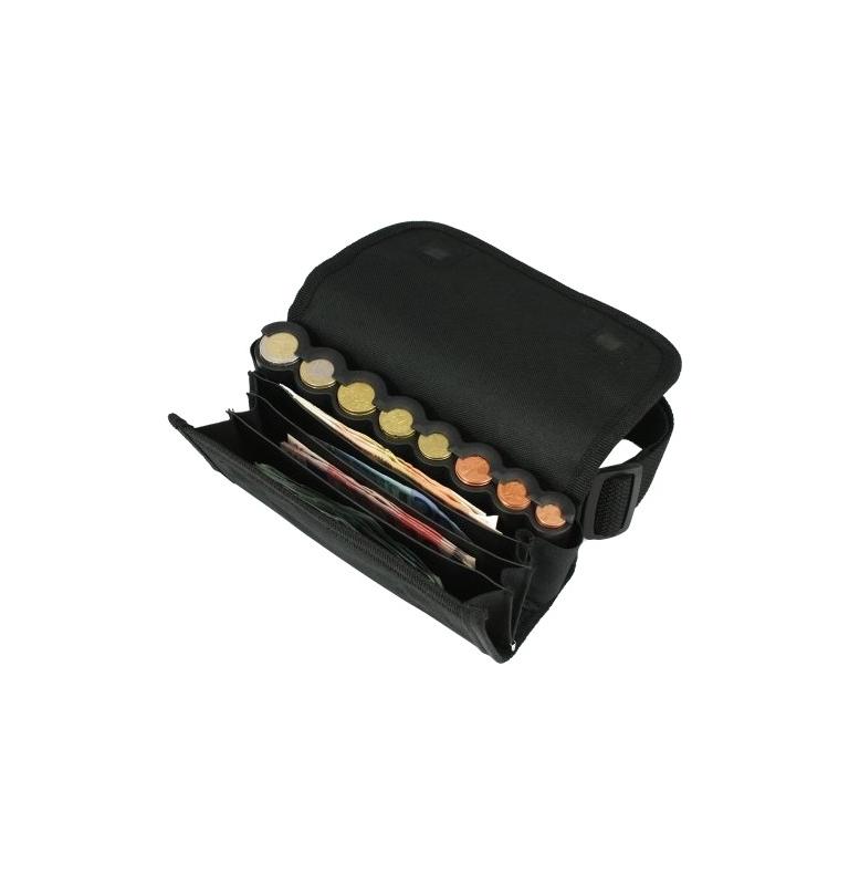 Textilní euro barmanská peněženka T4+1