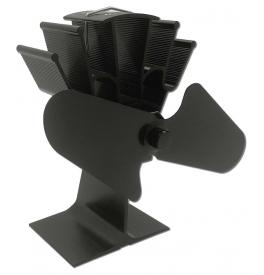 Termoelektrický ventilátor černý
