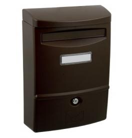 Poštovní schránka X-FEST ABS-2 - Hnědá