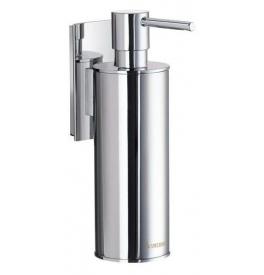 Kovová závěsná pumpička na tekuté mýdlo SMEDBO Chrom lesklý